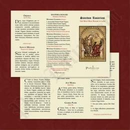 Sanctum Rosarium (Rosenkransen, latin)