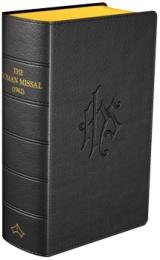 Daily Missal (latin/eng, 1962), svart