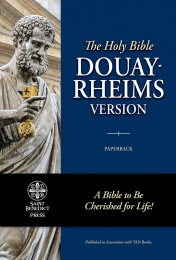 Douay-Rheims RED LETTER Bible (Paperbound)