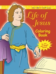 Life of Jesus - coloring book