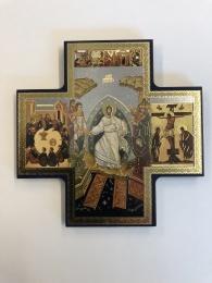 Kristi Uppståndelse, korsformad ikon