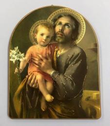 Helige Josef m Jesusbarnet, valvtavla