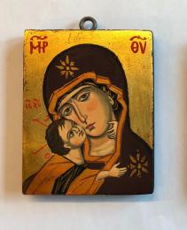 Ömhetens Gudsmoder (8x10), äkta ikon