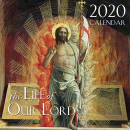 Life of Our Lord Wall Calendar