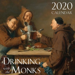 Drinking With the Monks Wall Calendar
