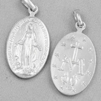 Mirakulösa Medaljen - silver, 15mm