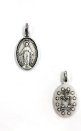 Mirakulösa medaljen, relief (ox. met.