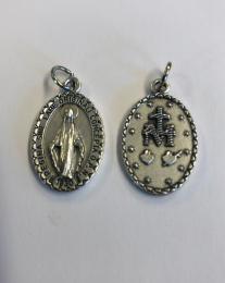 Mirakulösa medaljen, 23mm, latinsk text