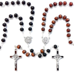 Benedictus-rosenkrans, svart
