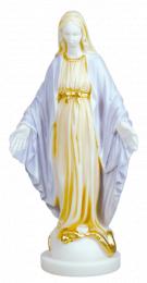 Mirakulösa Madonnan, 23cm, målad alabaster