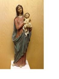Maria m barn, flerfärgad (60 cm)