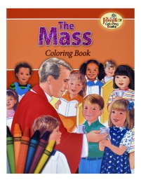 Mass, the - COLORING BOOK