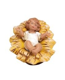 Jesusbarn med krubba (19 cm)