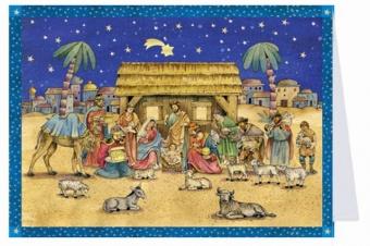 Adventskalender n. 40106 m kuvert