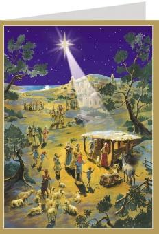 Adventskalender n. 400-64 m kuvert