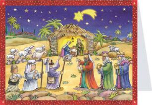 Adventskalender n. 411 m kuvert