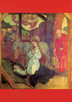 Jesu födelse (Schongauer, 1400-t)
