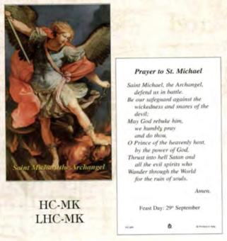 Bönekort, Mikael (eng.)
