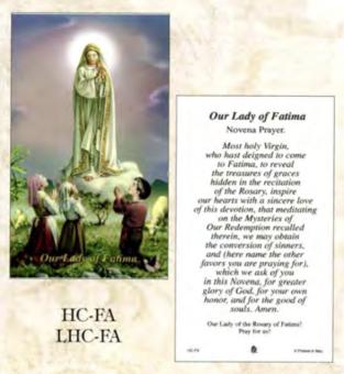 Bönekort, Fatima (eng.)