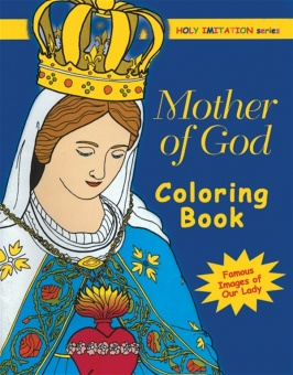 Mother of God - coloring book
