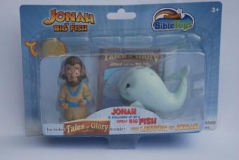 Actionfigurer Jona och fisken