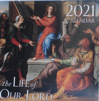 Väggkalender 2021 The Life of Our Lord