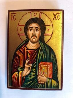 Kristus Allhärskaren / Pantokrator (7x10), äkta ikon