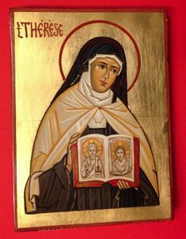 Lilla Thérèse av Lisieux (15x20), äkta ikon