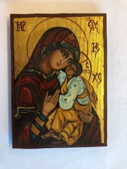 Ömhetens Gudsmoder (15x22), äkta ikon