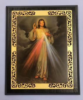 Gudomliga barmhärtigheten (ca 28 x 23cm)