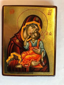 Ömhetens Gudsmoder (10x13), äkta ikon