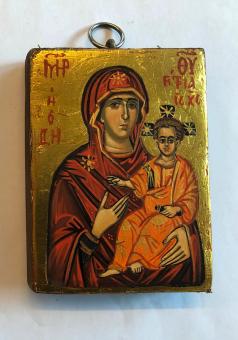 Maria & Jesusbarnet (8x10), äkta ikon