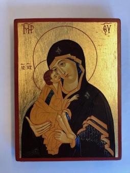 Ömhetens Gudsmoder (15x20), äkta ikon