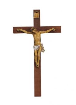 Krucifix, målat corpus, 54x30cm