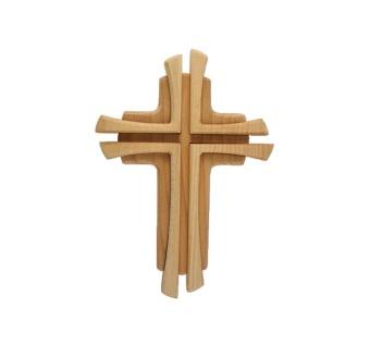 Kors, två träslag