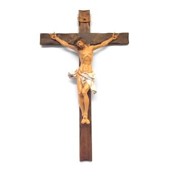 Latinskt krucifix, välsignande händer