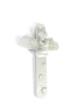 Barnrumskors m ängel, 3D (gips)