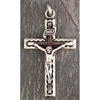 Silverpläterat krucifix