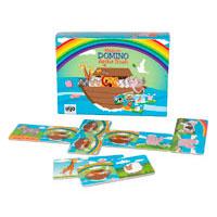 Dominospel – Noas ark, magnetiska brickor