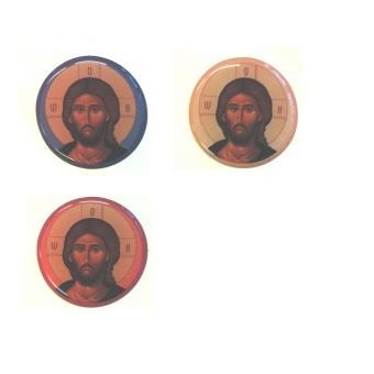 Jesus (runt klistermärke)