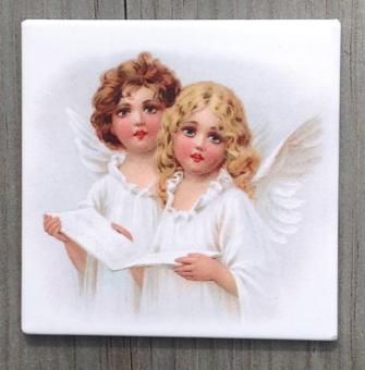 Änglar - magnet 6x6cm