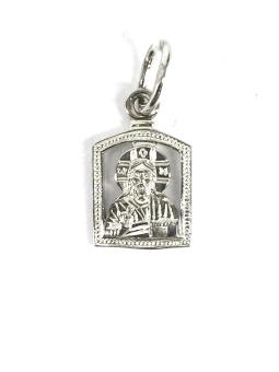 Jesus ikon - silver