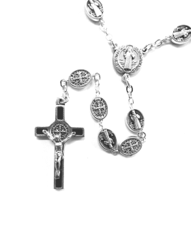 Benedictus-rosenkrans, runda medaljer