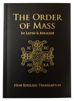 Order of Mass, Latin & English (CTS), Presentation Ed.