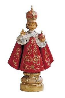 Jesusbarnet av Prag, 12 cm