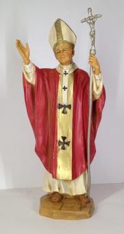 Hl. Johannes Paulus II, röd, 18 cm