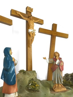 Korsfästelsen, scen (12 cm)