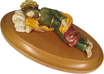 Hl Josef, drömmande, 19cm