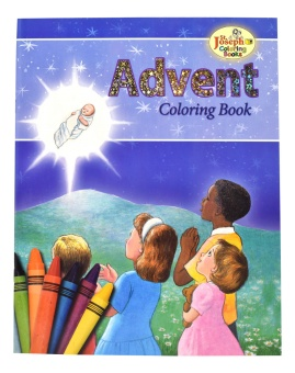 Advent - COLORING BOOK