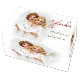 Änglaasken - ask med 60 änglakort